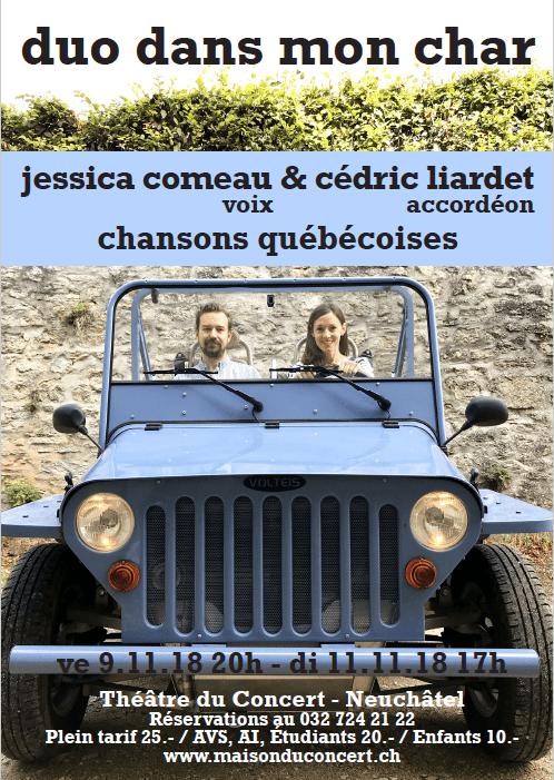 Chansons québécoises – Duo dans mon char