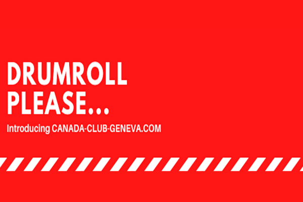 NEW CANADA CLUB GENEVA WEBSITE