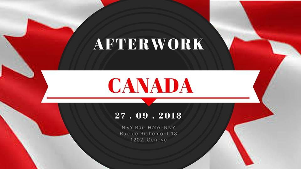 Canadian afterworks at the NVY hotel
