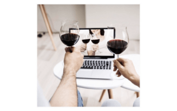 Virtual wine event